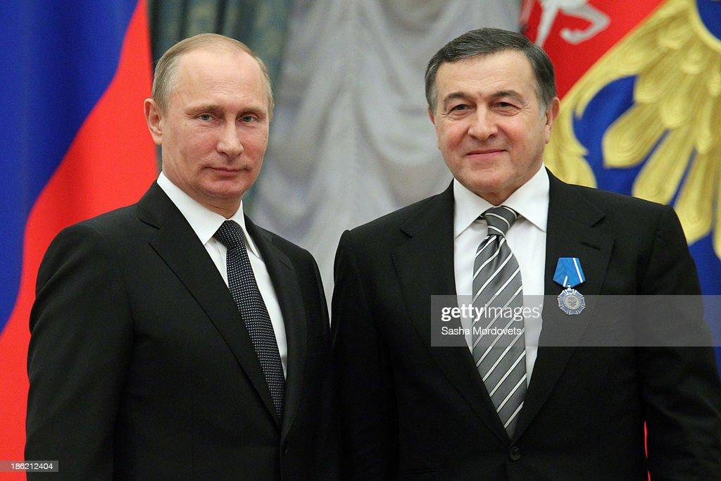 Russian President Vladimir Putin Holds Awards Ceremony : News Photo