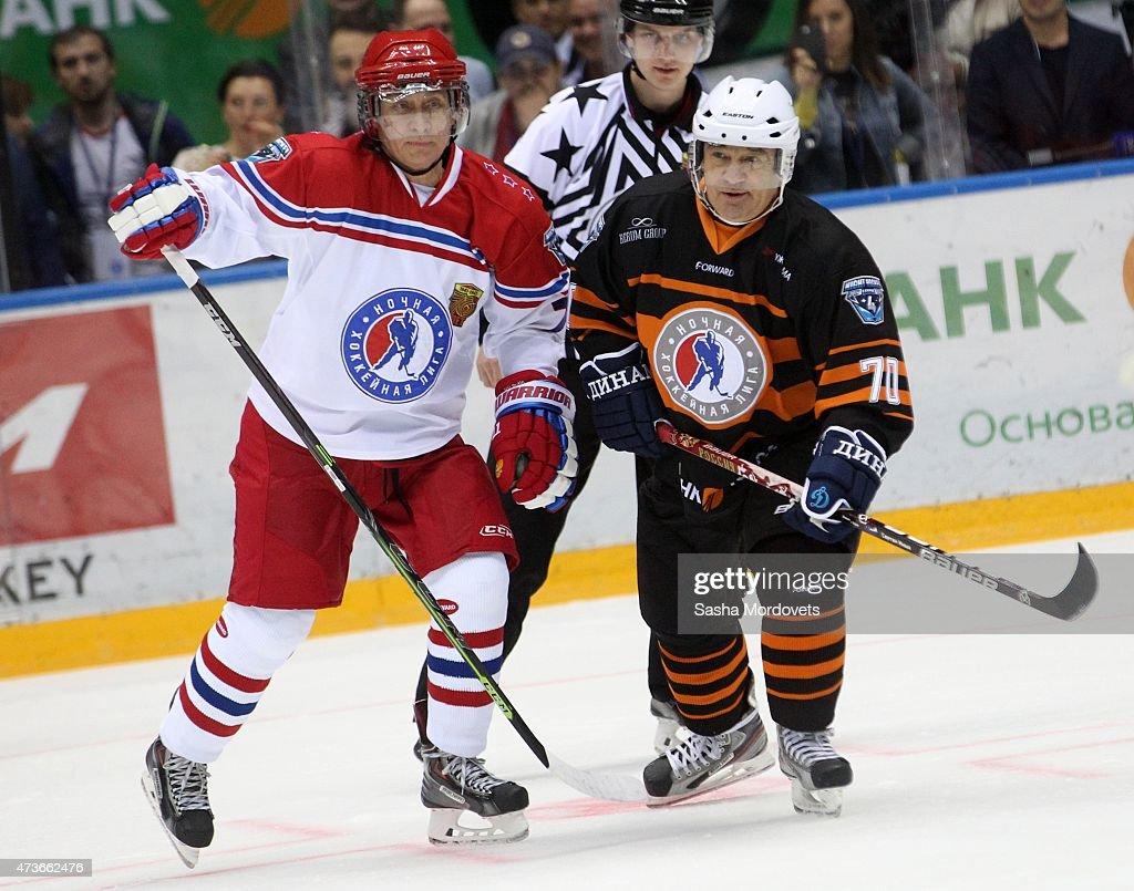 Nignt Hockey League Exhibition Match : News Photo
