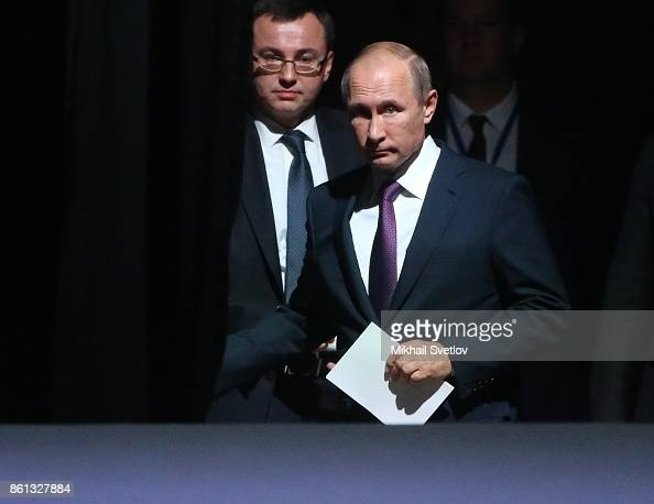 Russian President Vladimir Putin And Chief Of His Protocol Vladislav News Photo Getty Images