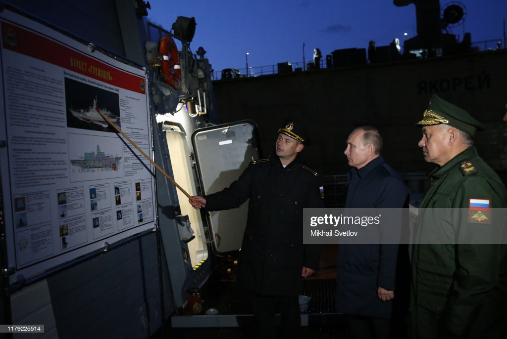 Russian President Vladimir Putin visits Kaliningrad : News Photo