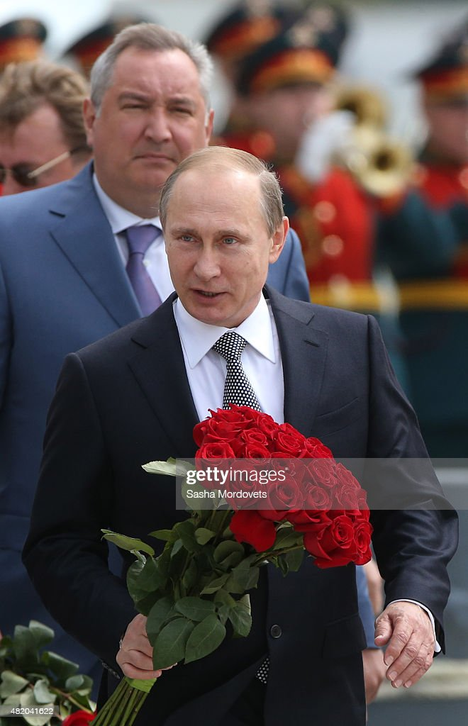 Putin Attends Navy Day In Baltiysk