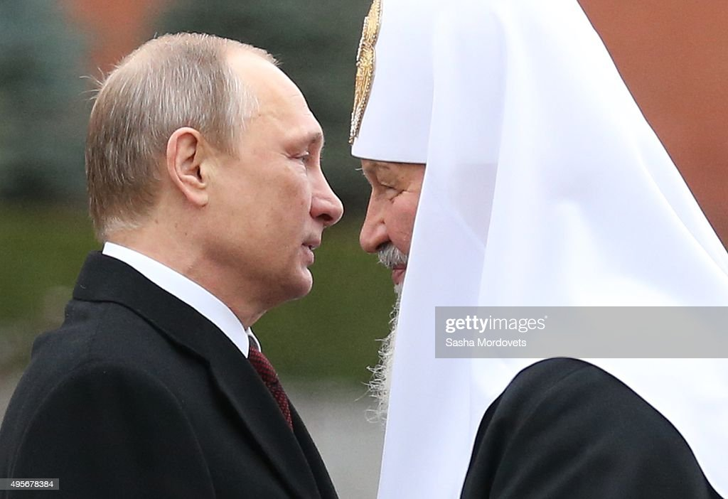 Vladimir Putin Attends National Unity Day In Red Square