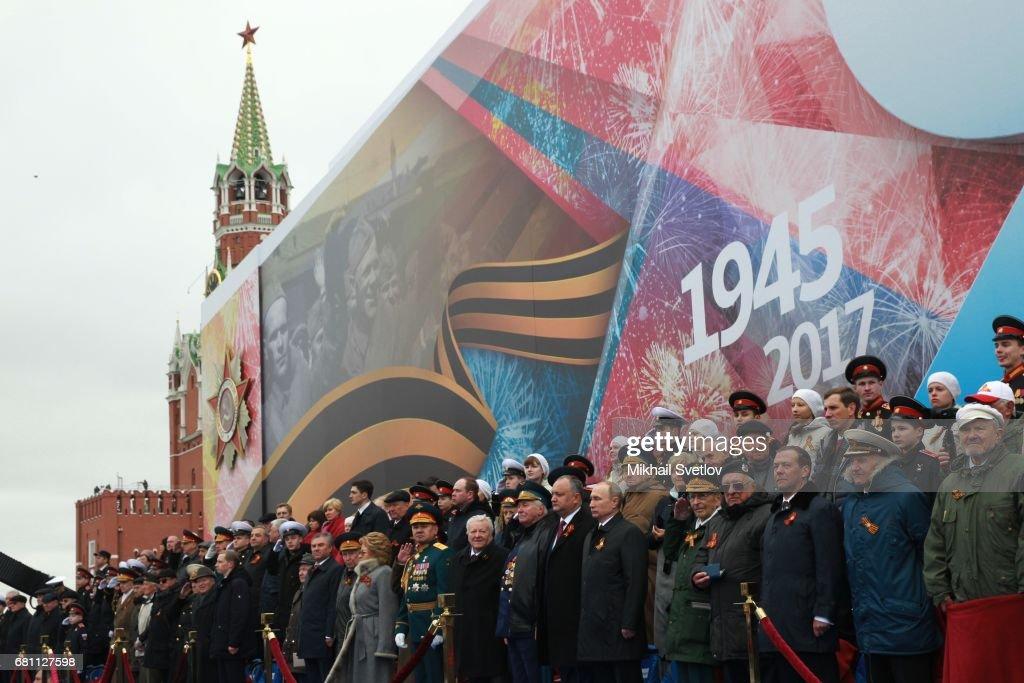 Victory Day Celebrations in Moscow : Foto di attualità