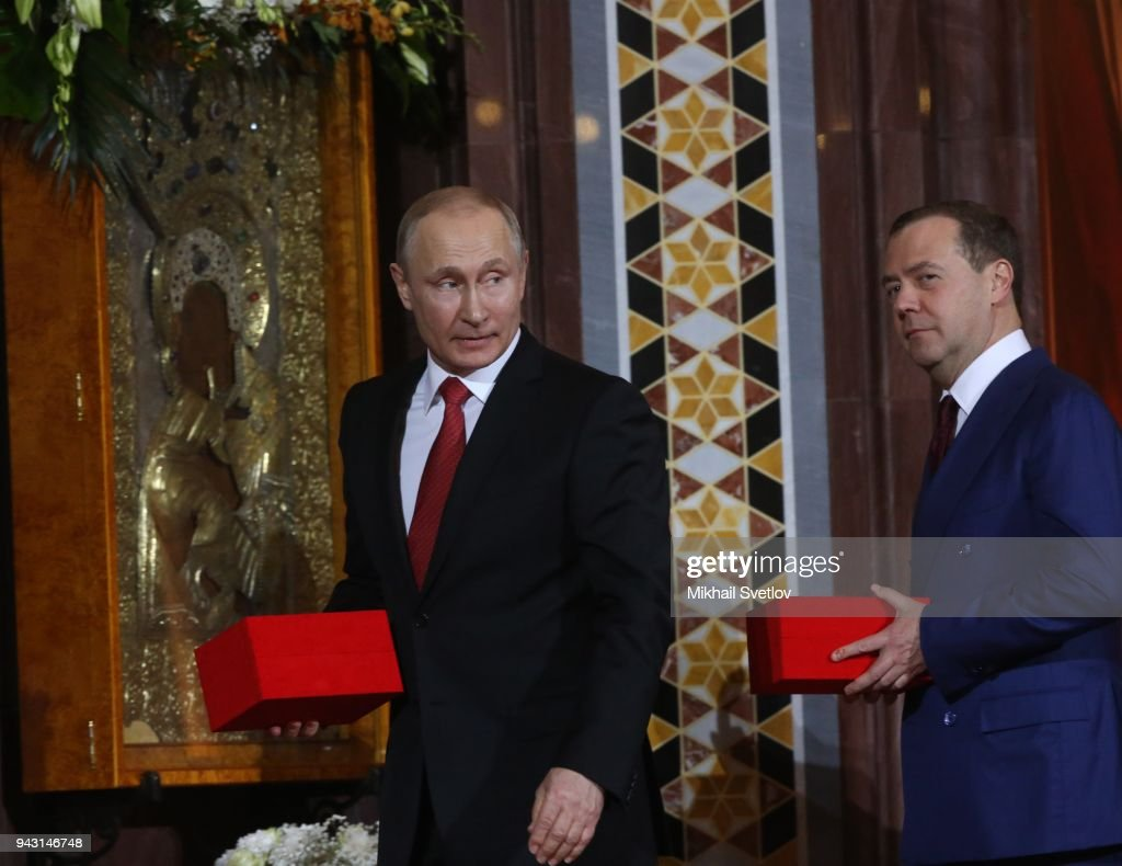 Russian Orthodox Easter : News Photo