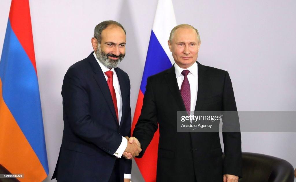 Eurasian Economic Union (EAEU) summit in Sochi : ニュース写真