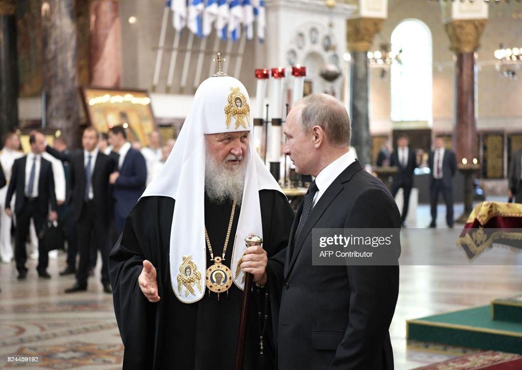 RUSSIA-POLITICS-DEFENCE-NAVY : News Photo