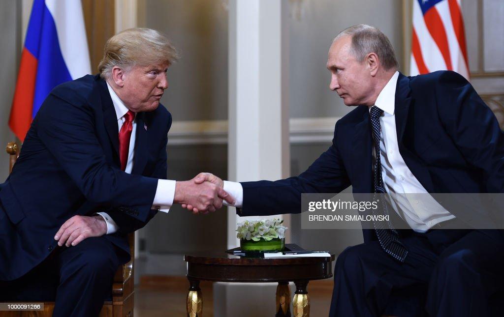 Trump and Putin Meet In Helsinki
