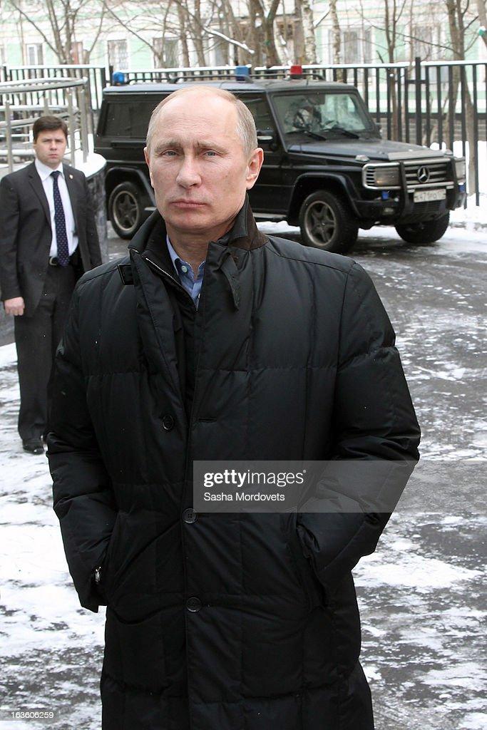 Actor Steven Seagal Visits Russia On The Invite Of Vladimir Putin : News Photo