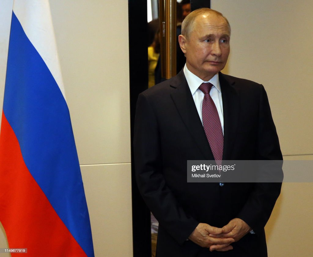 Russian President Vladimir Putin Attends A Bilateral Meeting In News Photo Getty Images