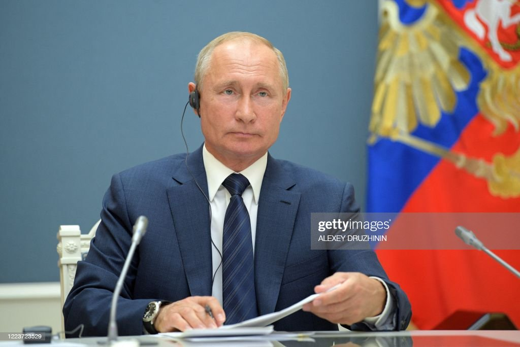 RUSSIA-POLITICS-DIPLOMACY-IRAN-TURKEY-CONFLICT-SYRIA : News Photo