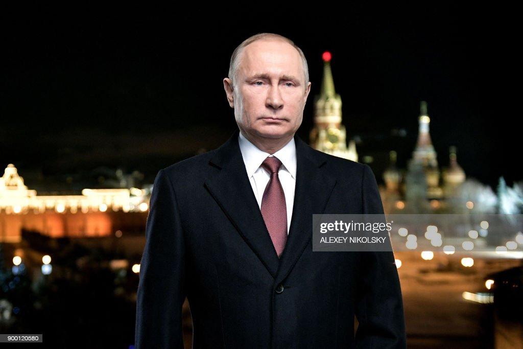 RUSSIA-NEW-YEAR-POLITICS : News Photo
