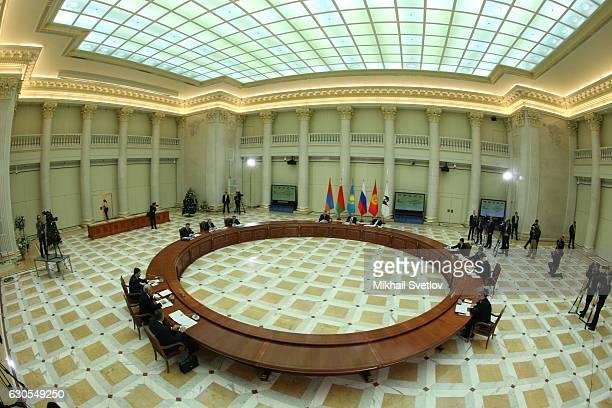 Russian President Vladimir Putin attends the Eurasian Economic Union Summit in Saint Petersburg Russia December 2016 Vladimir Putin has ordered an...