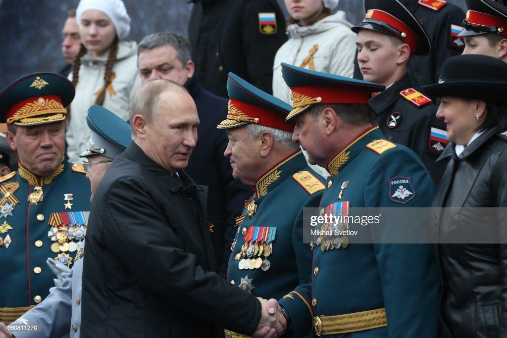 Victory Day Military Parade In Moscow : Foto di attualità