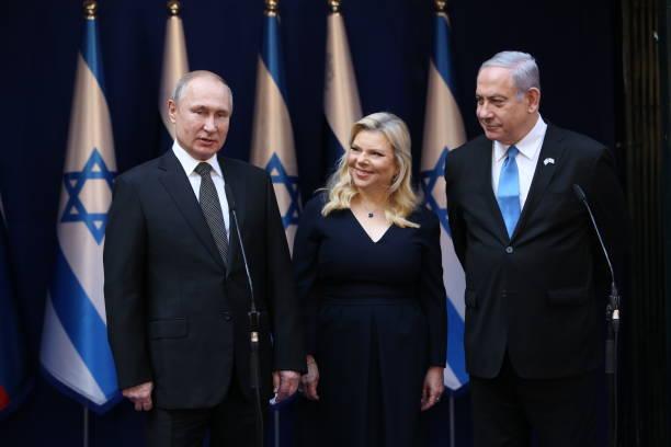 ISR: Russian President Vladimir Putin visits Middle East