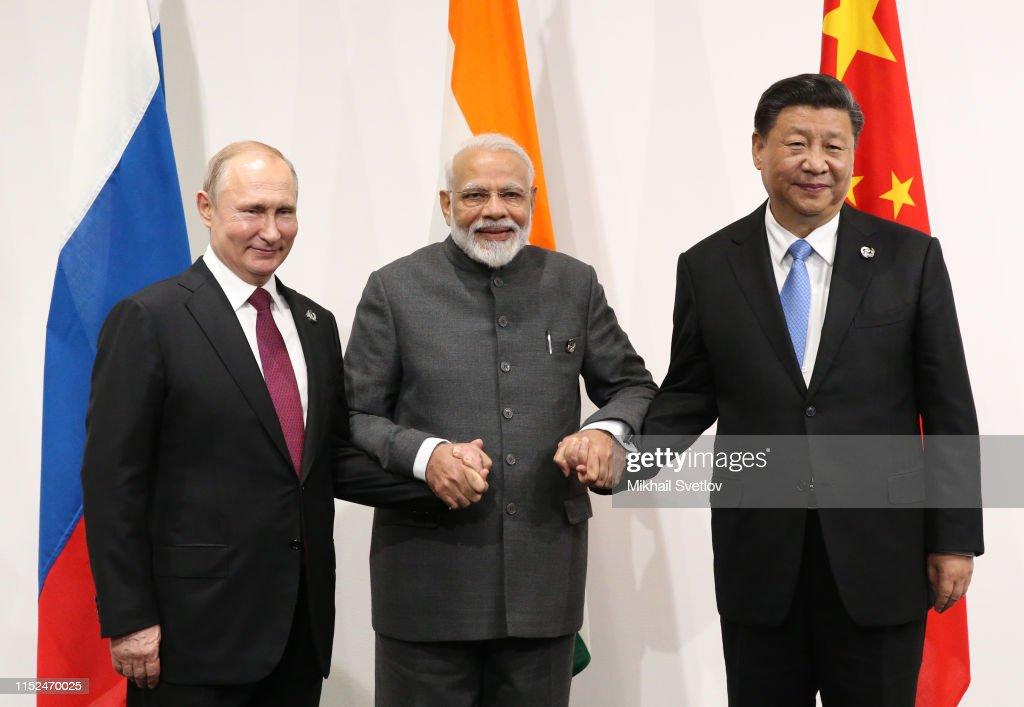 Image result for Trump, Vladimir Putin och Xi+Modi