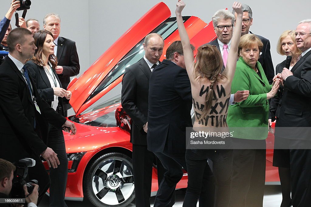 Hannover Messe 2013 Industrial Trade Fair : News Photo