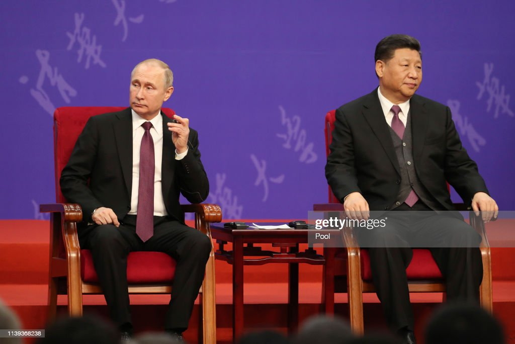 The Second Belt And Road Forum For International Cooperation - Day Two : News Photo