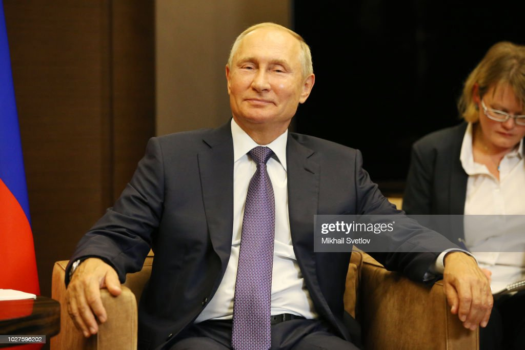 Russian President Vladimir Putin Receives General Secretary Of The Communist Party Of Vietnam Nguen Phu Trong