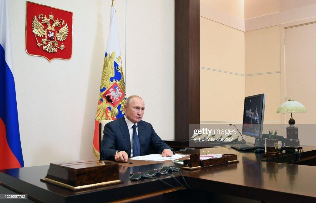 RUSSIA-ARMENIA-AZERBAIJAN-KARABAKH-CONFLICT : News Photo