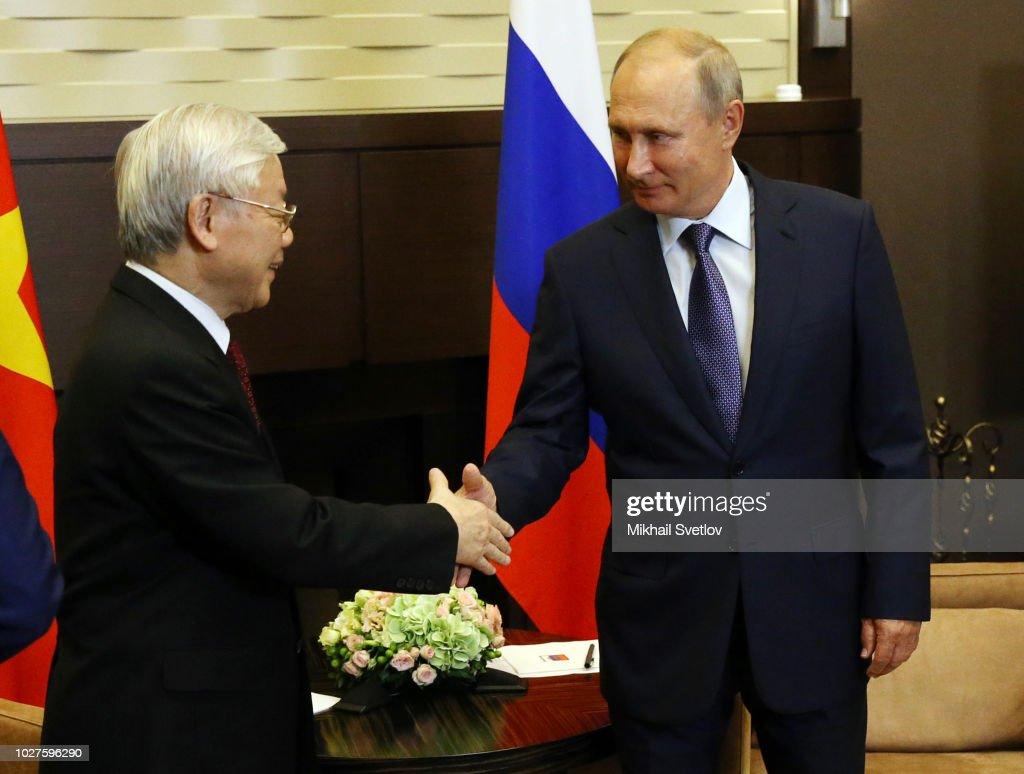 Russian President Vladimir Putin Meets Vietnamese Communist Party News Photo Getty Images