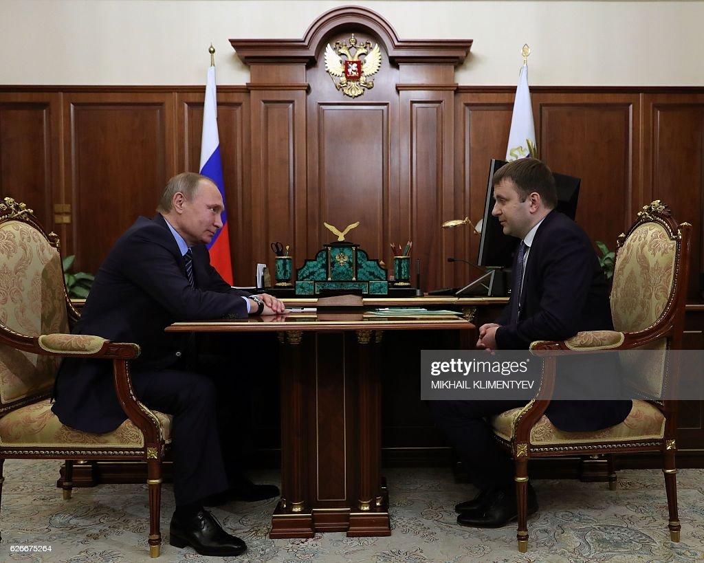 RUSSIA-POLITICS-ECONOMY : News Photo
