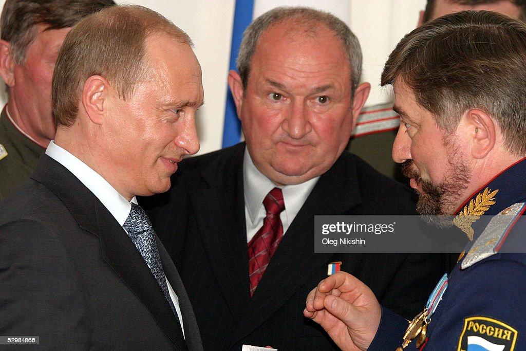 Russian President Vladimir Putin Meets With General Gennady Troshev News Photo Getty Images