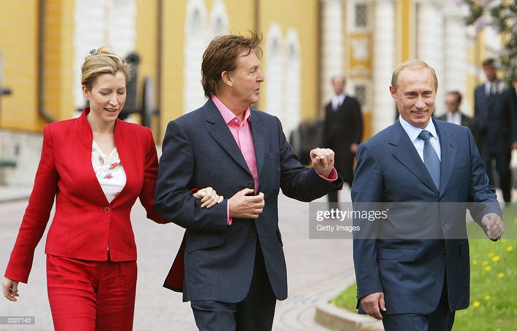 Sir Paul McCartney Meets With Russian President Vladimir Putin  : News Photo