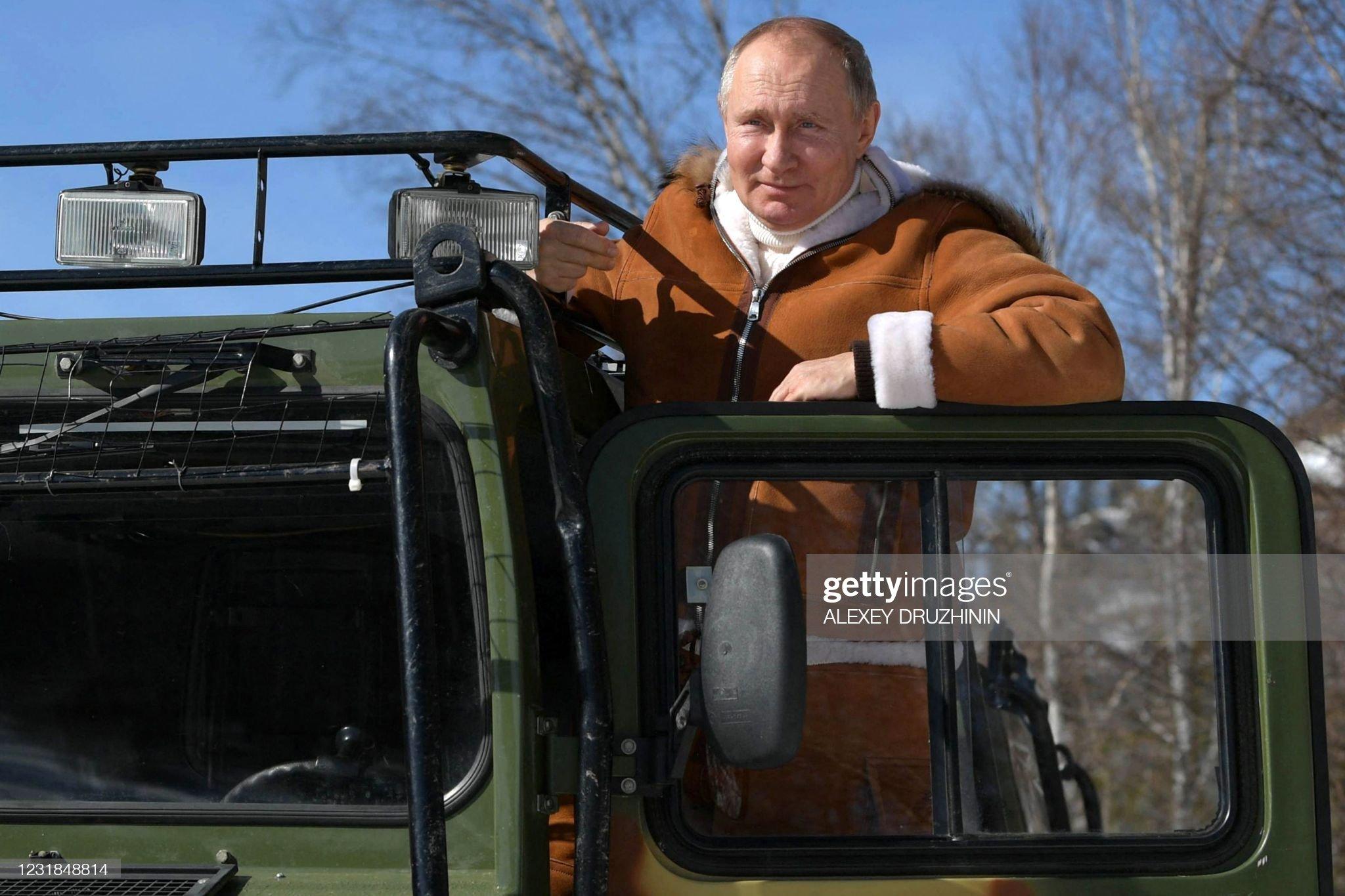 RUSSIA-POLITICS-ARMY : News Photo