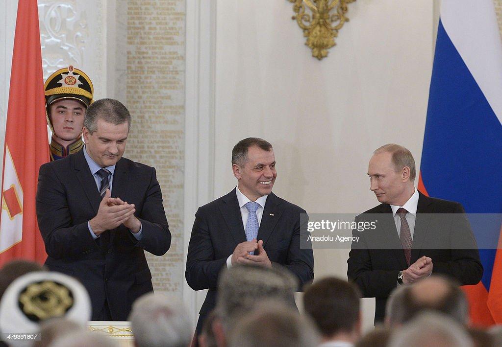 Crimea annexed by Russia : News Photo