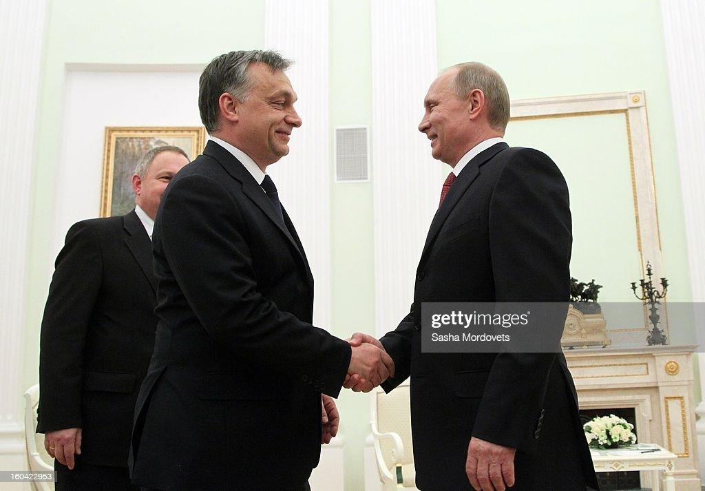 Hungarian Prime Minister Viktor Orban Visits Russia