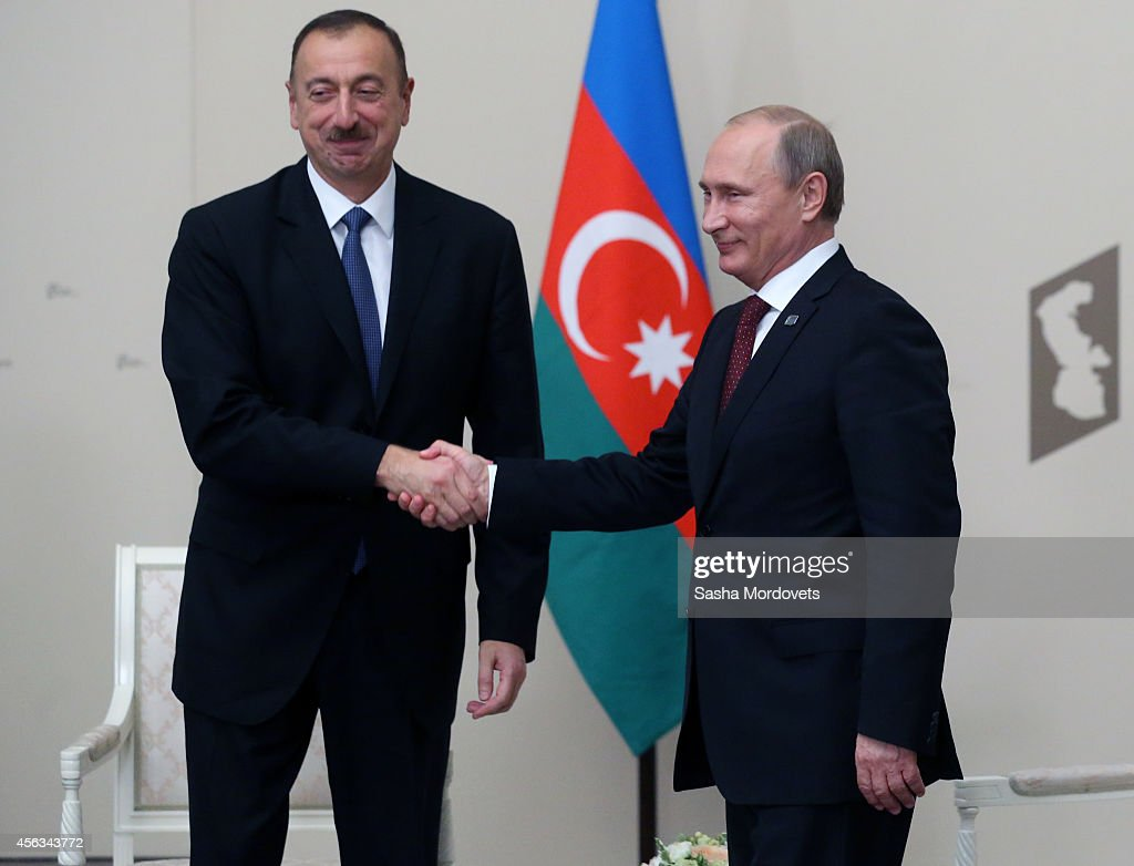 Fourth Caspian Sea Summit Held In Russia : News Photo