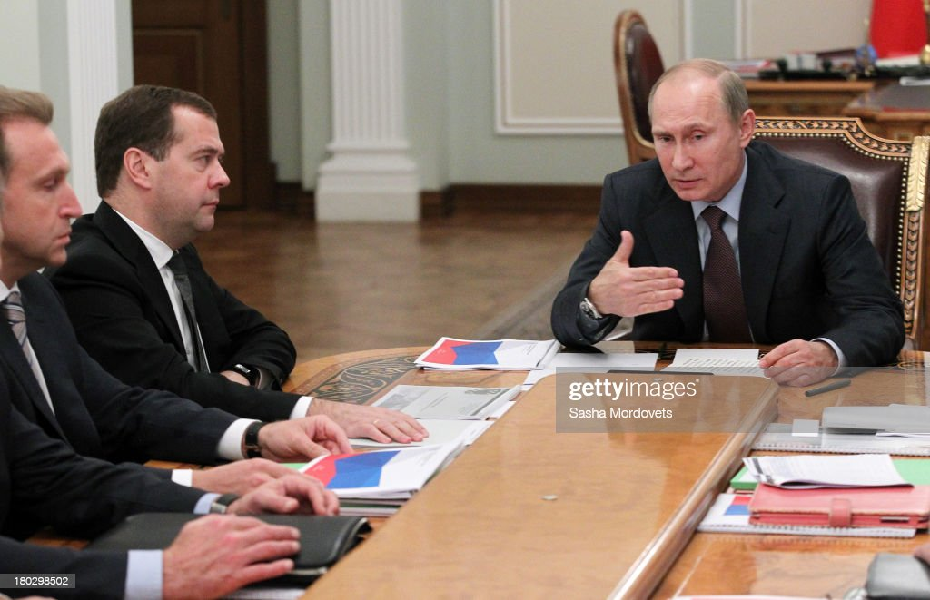 Russian President Vladimir Putin Holds Budget Planning Meeting