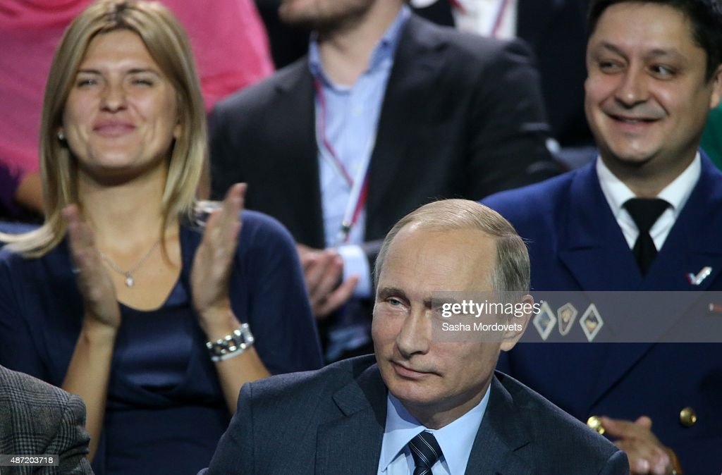 Russian President Putin Attends The Conference of People's United Front : News Photo