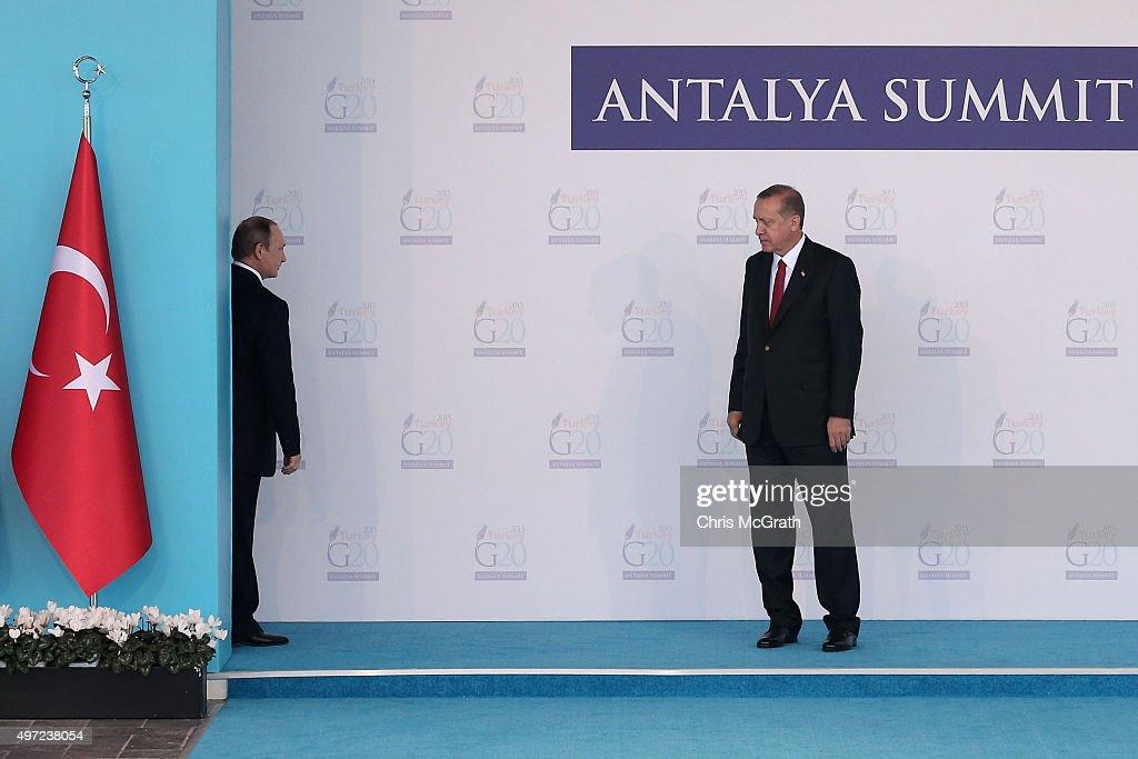 Turkey Hosts The G20 World Leader's Summit : News Photo