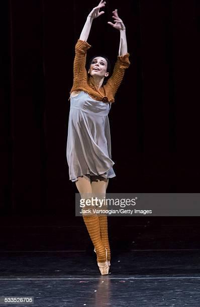 Russian prima ballerina Diana Vishneva dances the title role in the Mariinsky Ballet production of Sergei Prokofiev's 'Cinderella' choreographed by...