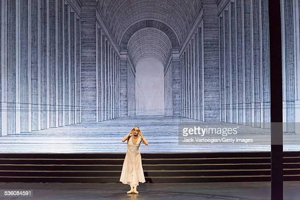 Russian prima ballerina Diana Vishneva dances the title role in the Mariinsky Ballet production of 'Cinderella' at the BAM Howard Gilman Opera House,...