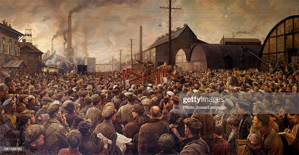 The Russian Revolution Gallery Of