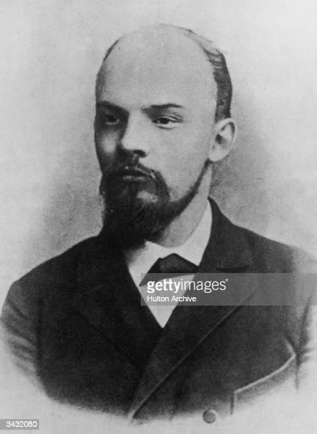Russian revolutionary and Marxist politician Vladimir Ilyich Lenin