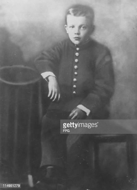 Russian revolutionary leader Vladimir Lenin as a boy circa 1887