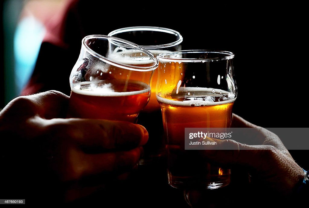 Burgeoning Craft Beer Industry Creates Niche Market For Limited Release Beers : News Photo