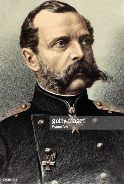 circa 1860 Alexander II of Russia Tsar of Russia from 18551881