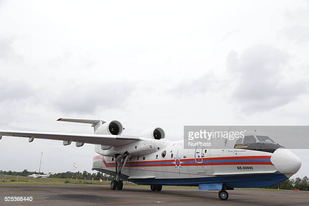 Russian SAR team arrived at pangkalan bunkalimantan to help Indonesia with their advance technology in helping finding the victim body black box...