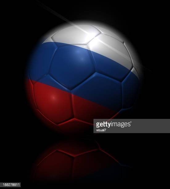 russian soccer ball