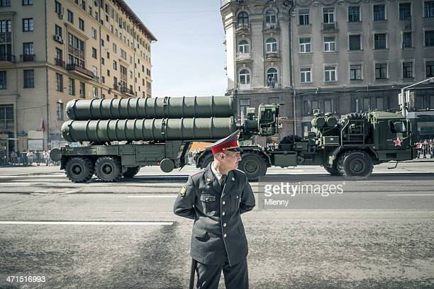 Russische Soldaten Victory Tag in Moskau, Russland, 9. Mai