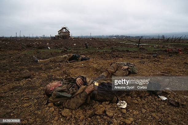 Russian soldiers killed during fights with Chechen separatists | Location Goiskoie Chechnya