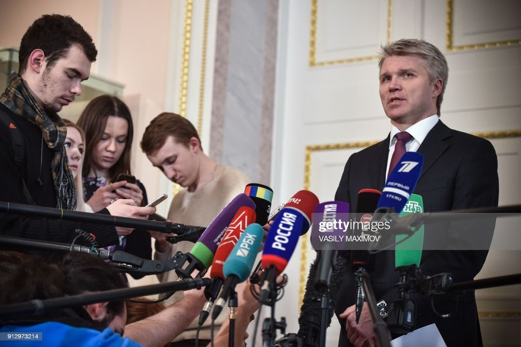 OLY-2014-DOPING-RUS-RUSSIA-GOVERNMENT : News Photo