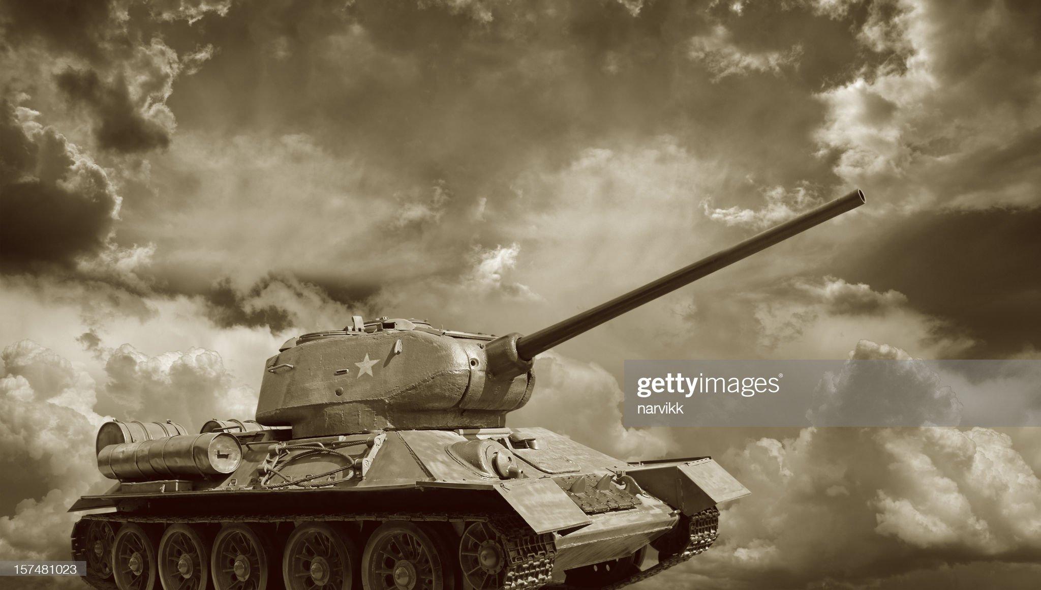Russian Tank T34 : Stock Photo