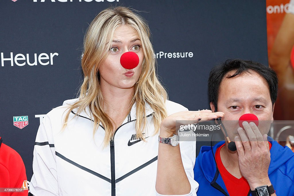 Maria Sharapova At The Tag Heuer Boutique In Paris