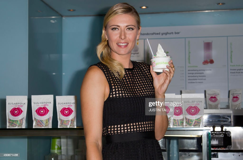 BRITAIN-TENNIS-GBR-SHARAPOVA : News Photo