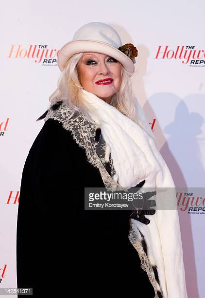 Russian theater and film actress Irina Miroshnichenko attends The Hollywood Reporter Russian Edition Launch Party at Pashkov House on April 06 2012...